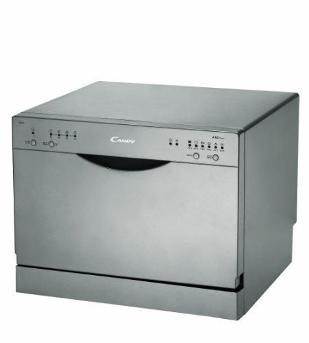 Candy CDCF 6 S Freistehender Geschirrspüler / AAA / 0.63 kWh / 6 MGD / 8 L / 55 cm / 8 L / grau
