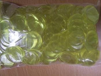 Koplow - Pions - Sachet de 250 Jetons Translucides Jaunes
