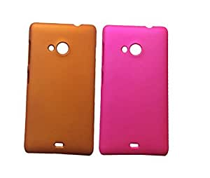 2 Pieces Winsome Deal Exclusive Hard Back Cover Case for Nokia LUMIA 535