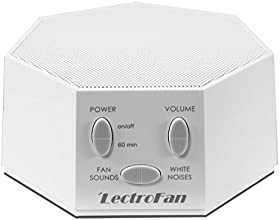 LectroFan - Fan Sound and White Noise Machine, White (FFP)