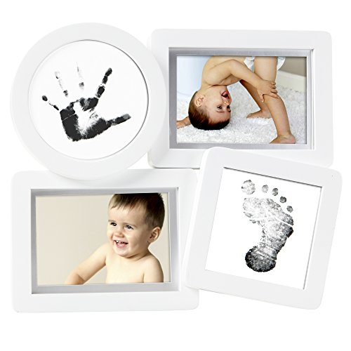 Pearhead Babyprints Collage Frame, White