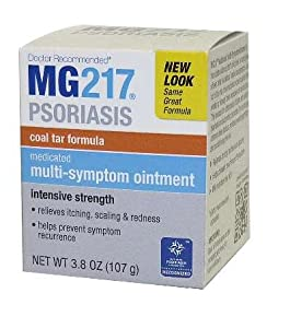 Mg217 Medicated Tar Ointment, Psoriasis Treatment, Intensive Strength, 3.8 Oz.