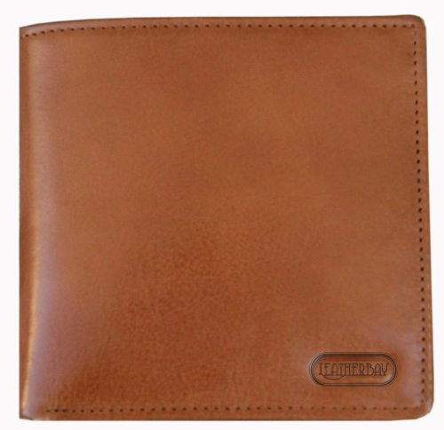 leatherbay-double-fold-wallet-with-coin-pockettanone-size