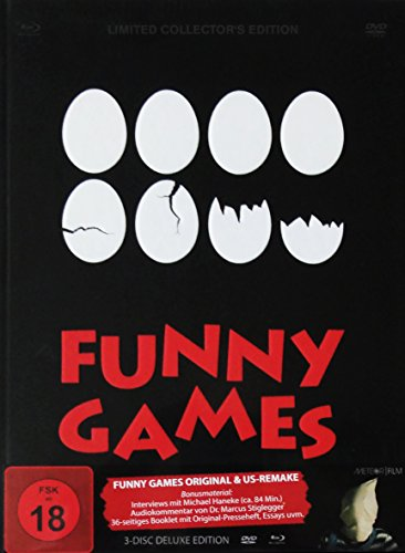 Funny Games - Original + US Remake [3-Disc Deluxe Edition] [Blu-ray und DVD] [Limited Edition]