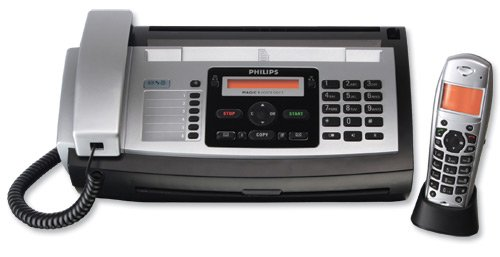 Philips PPF685 Magic 5 Eco Voice Dect Fax/Phone, Features Include; SMS, Cordless Handset, Photo Resolution, 10 Short Dial Keys, 30 Minute Recording Time Answer Machine