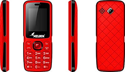 Melbon CRV Red Dual Sim GSM with Multimedia Camera Mobile Phone
