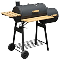 Outsunny Charcoal BBQ Grill/Offset Smoker