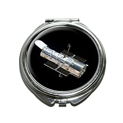 Hubble Telescope Astronomy Space Compact Purse Mirror