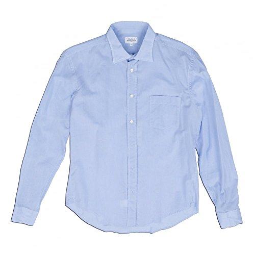 hartford-chambray-voile-shirt-blue-medium-blue