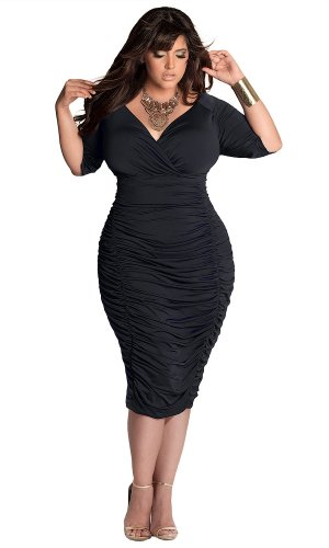 Igigi Women'S Plus Size Ambrosia Dress In Black 22/24
