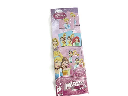 Disney Princess Memory Match Game (72 Memory Match Cards)