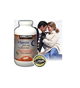 Kirkland Signature Vitamin C w/ Rose Hips 500 Tablets