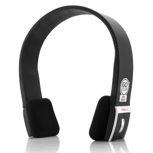 GOgroove AirBand Bluetooth Stereo Headphones with Built-In Microphone for Wireless Music Streaming and Hands-Free Calling - Works w/ the latest Smartphones by Apple, Samsung, HTC, Nokia, & More