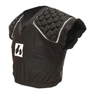 barnett rugby shoulder pad RSP-3, 3 pieces, size M, black