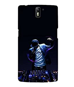 printtech Disco DJ Music Back Case Cover for One Plus One::One Plus1