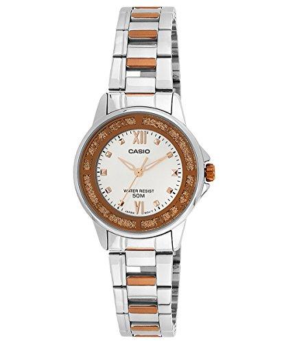 CASIO LTP-1391RG-7 - Reloj de pulsera, para mujer, multicolor