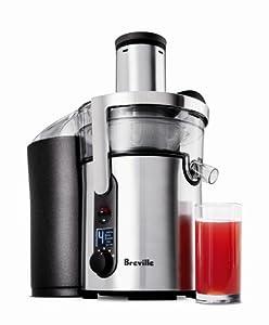 Breville BJE510XL Juice Fountain Multi-Speed 900-Watt Juicer by Breville Kitchenware