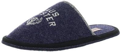 Adelheid Hausmeister  12221162406, Herren Hausschuhe, Blau (marineblau 295), EU 40/41