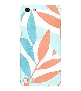 EPICCASE Leaf Mobile Back Case Cover For OPPO Neo 7 (Designer Case)