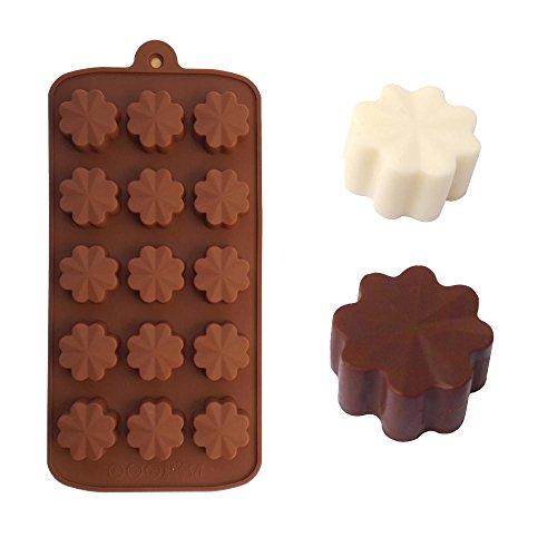 Clover Bakeware Silicone Cake Mold Ice Cream Chocolate Molds Soap Silicone Molds 3D Cupcake Baking