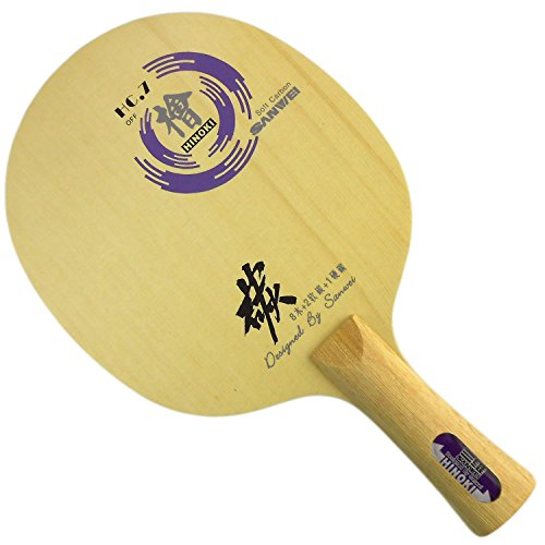 Sanwei HC.7 Table Tennis Blade, Long(Shakehand)-FL