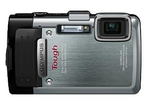 Olympus TG-830 Digitalkamera (16 Megapixel, 5-fach opt. Zoom, 7,6 cm (3 Zoll) LCD-Display, Full HD, GPS, Wasserdicht bis 10m) silber