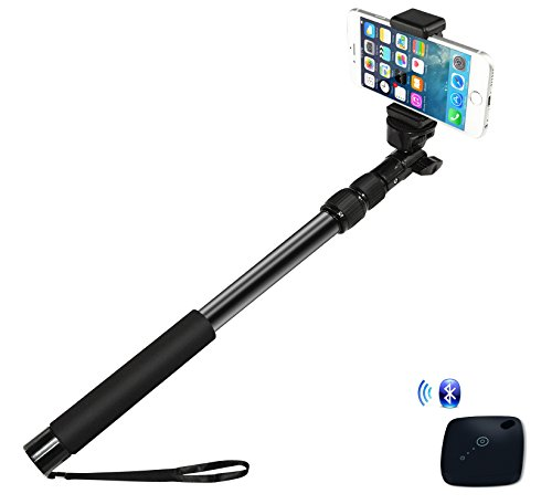 ipow all aluminum 16 34 pro selfie stick waterproof telescoping extension monopod pole with. Black Bedroom Furniture Sets. Home Design Ideas