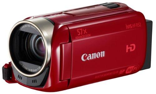 Canon デジタルビデオカメラ iVIS HF R52 レッド 光学32倍ズーム IVISHFR52RD
