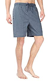 Autograph Pure Cotton Checked Pyjama Shorts