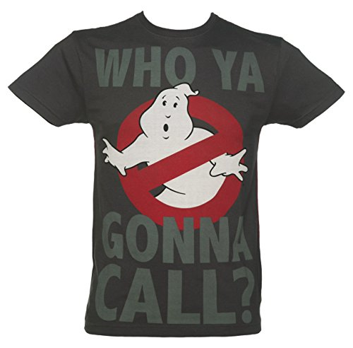 Mens Charcoal Who Ya Gonna Call Ghostbusters