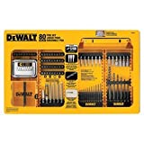 DEWALT DW2587 80-Piece Professional Drilling/Driving Set