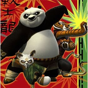 Kung Fu Panda '2' Large Napkins (16ct)