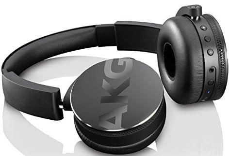 【国内正規品】AKG Y50BT ワイヤレスヘッドホン Bluetooth 密閉型 DJスタイル ブラック Y50BTBLK