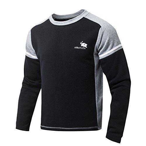 airavata-hombres-de-algodon-de-manga-larga-jersey-sueter-chicos-ligeros-de-color-solido-empalme-suda
