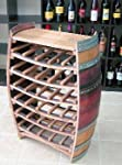 Whole Barrel Wine Rack with counter top, 36 bottles from MGP