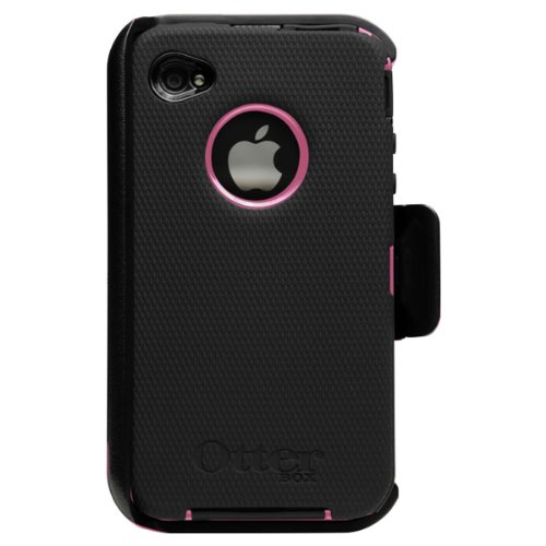Otterbox Defender Case for iPhone 4G (Pink and Black)