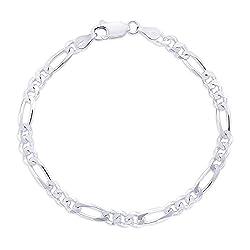 Gandhi Jewellers Sterling Silver Bracelet. Sleek and Thin Pure 925 Silver Bracelet. Silver Bracelet for Men.