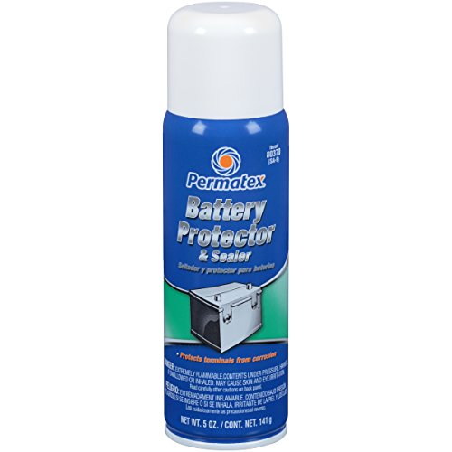 Permatex 80370 Battery Protector and Sealer, 5 oz. net Aerosol Can (Car Battery Protector compare prices)