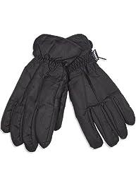Winter Warm-Up - Mens Ski Gloves, Black 28578-X-Large