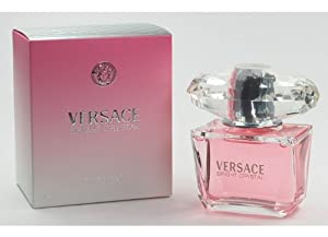 Bright Crystal Perfume by Versace for Women, Eau De Toilette Spray 3 oz / 90 ml