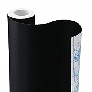 Akaly Sticky Back Chalkboard Black Contact Paper Roll 78.74 * 17.7 Inchs by Akaly