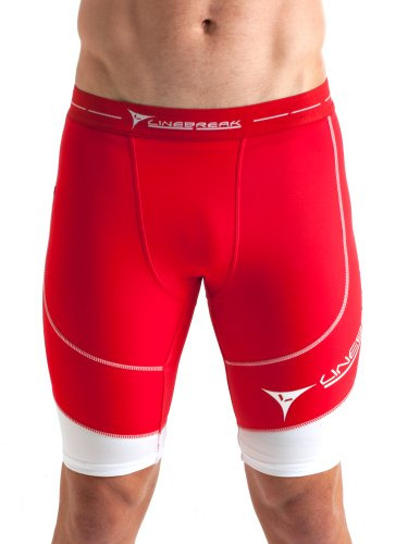 Linebreak Men's Long Compression Shorts