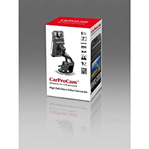 CarProCam(TM) HD 1080p Car Dashboard Camera Car Accident DVR with LCD, LED LIGHTS, HDMI OUTPUT, CYCLE RECORDING. Model z06