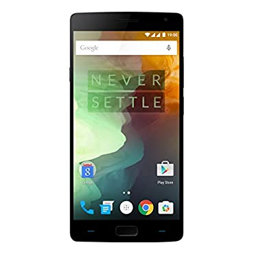 OnePlus 2 Unlocked Smartphone, 64GB Sandstone Black (Model A2005)
