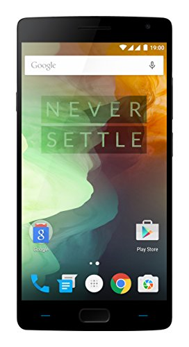 OnePlus 2 Unlocked Smartphone, 64GB Sandstone Black (US Warranty - Model A2005)