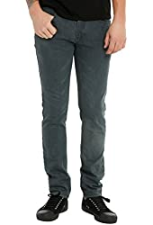 Indigo Charcoal Overdye Skinny Jeans