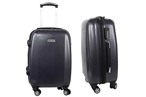 valise-trolley-rigide-pierre-cardin-bleu-bagages-a-main-ryanair-s295