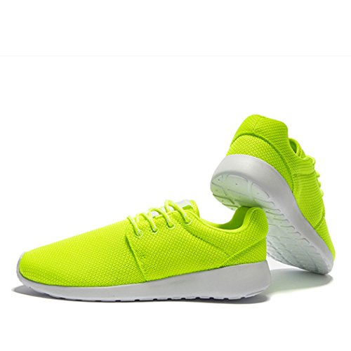 03. Changping Mens Air Permeability Lace-up Mesh Upper Stylish Simplicity Lightweight Walking Running Shoes