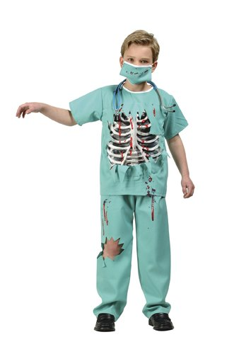 Scary E.R. Doctor Child Costume