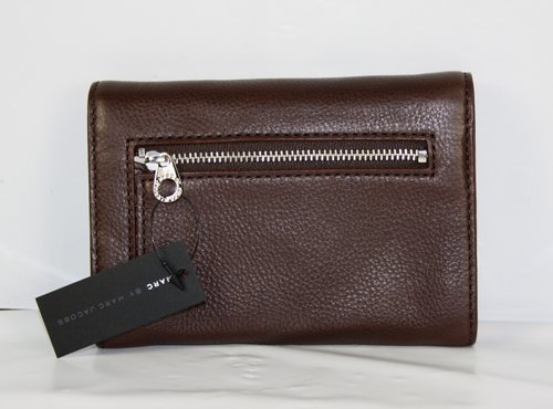 Marc Jacobs Classic Q Flaptastic Wallet Chocolate